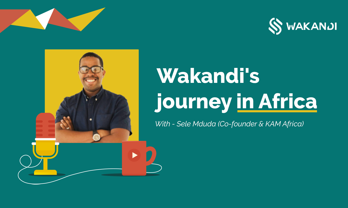 Wakandi's Co-founder talking about financial inclusion in Africa