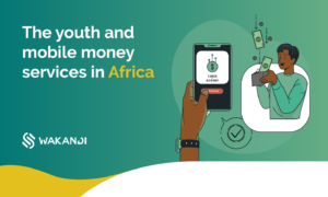 Youth in Africa adopting mobille money