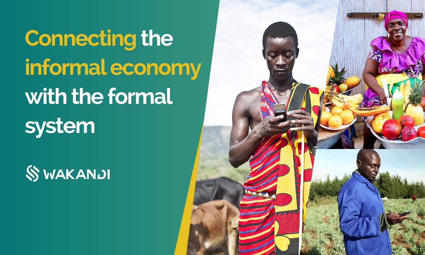 Connecting Informal Economy in Africa with formal systems